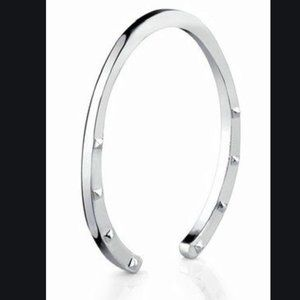 House of Harlow Horseshoe Cuff-Silver
